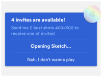 🎫 I have 4 invites and alert exploration continues
