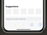 ⬇️⬇️⬇️ This is how Safari should look like