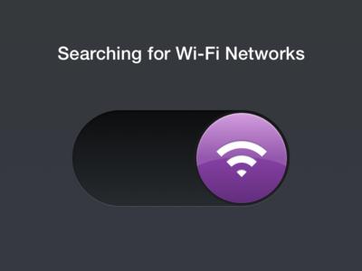 Wi-Fi Toggle