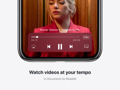 📼 Video Player