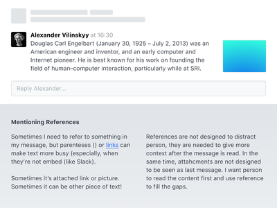 🧺 Side References reference chat ui messages text