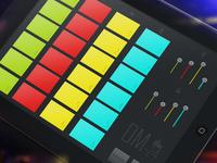 DM-24 Virtual Drum Machine iPad