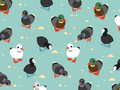 Birdwatching Pattern birdwatching pattern bird dove seagull duck