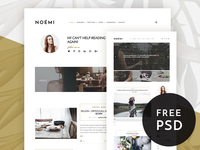 Noemi - Pure and Simple Blog Theme
