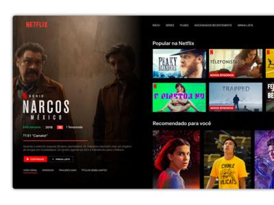 [Redesign] Netflix for Apple TV