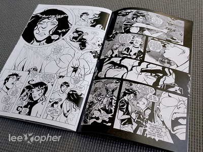 Rock of Pages Spread: Part 3