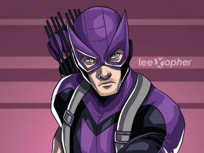 Hawkeye By Lee Xopher