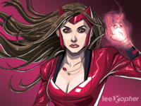Scarlet Witch By Lee Xopher