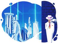 Private Smug Investigator illustration