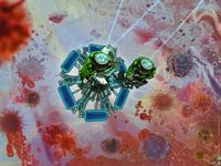Medical illustration and nanorobots