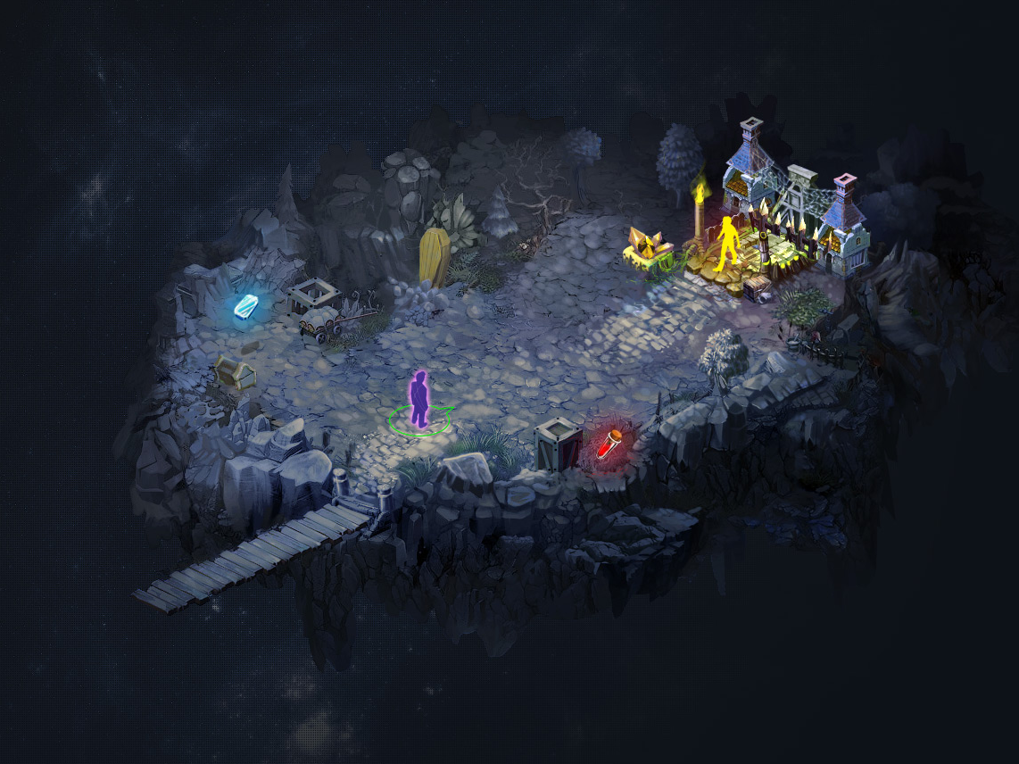 Game location Environment isometric health characters island player level location game environment isometric