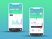 My Healthy - UX / UI design for mobile app
