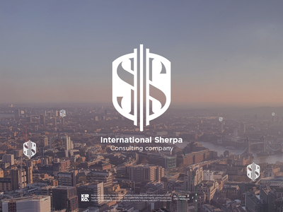 Company logo design - International Sherpa (consulting service)