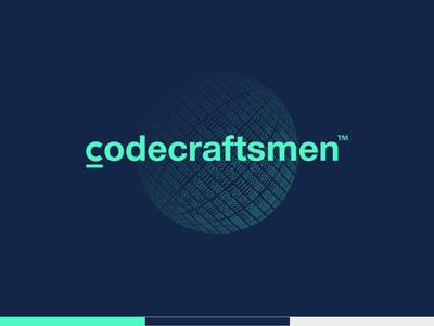 Technology logo design for Codecraftsmen ukraine logo design fresh colors kirko team logotype logo inspiration branding technology icons engineering logo creative logo brand icon digital logo design it company logotype it development branding kirko codecraftsmen software logotype technology logo