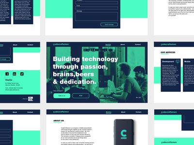 Web design for Codecraftsmen
