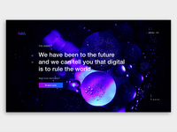 Landing Page for digital agency Fabl