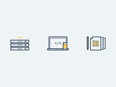 Langa Icons flat design nfk norfolk langa ui iconography icons illustration color design front-end nodejs