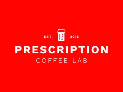 Updated Prescription Logotype coffee lab roaster prescription identity coffee logotype logo branding
