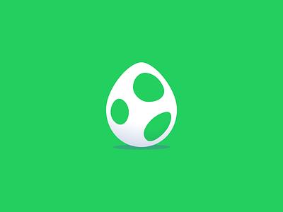 Yoshify Egg vector illustration creative green eggs and ham omelet yoshify egg yoshi green improved spotify