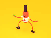 Hot Sauce Bro 3D