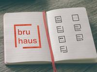 Logo Concepts for bru haus