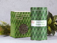 Bru Haus  GreenTea Tin
