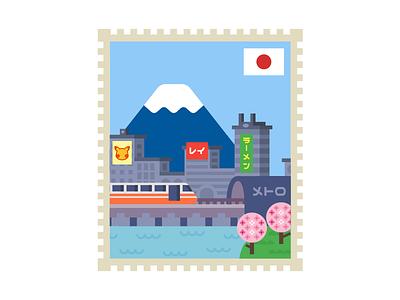 Tokyo blossom cherry train metro ramen mt. fuji pokemon japan tokyo