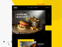 Unânime Burguer Website