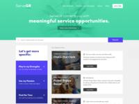 ServeGR Homepage