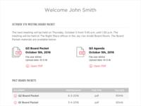 Board Member Portal