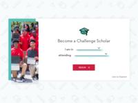 Challenge Scholars Form
