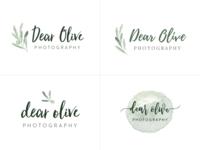 Dear Olive Logo Concepts