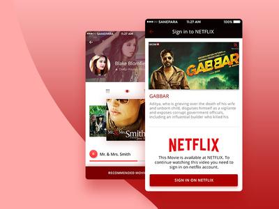 AllPlay App UI UX Design