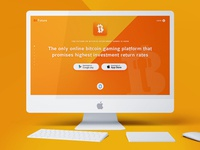 Bitfuture website design