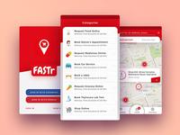 Fastr App design