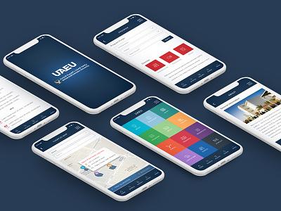UAE University Application uiux app