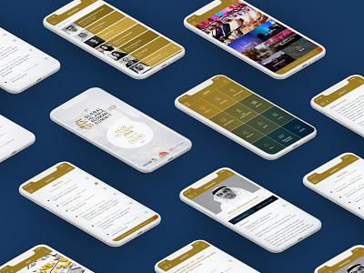 Global Islamic Economy Summit Application uiux application