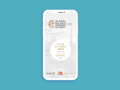 Global Islamic Economy Summit Application gies mobile app design