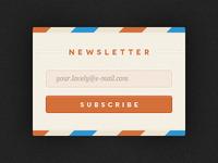 Rebound Newsletter - with PSD