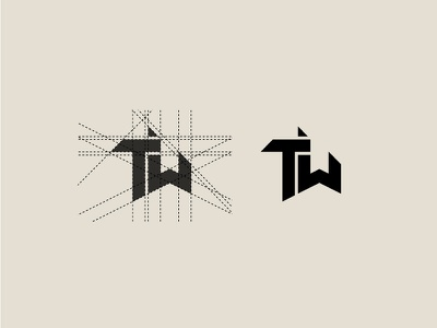 Concept T & W Grid Work - FSVISUALS abstract clothing bodybuilding logo illustration design fashion apparel fitness branding