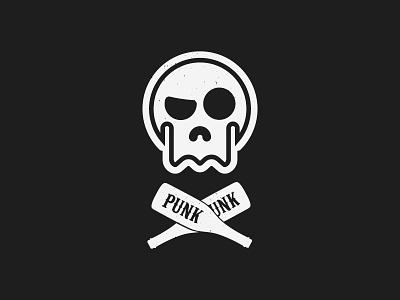 Punk T-Shirt Design. buynow vector hireme buy hire punked skulls illustration tshirt skull punk