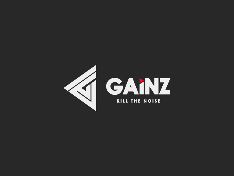 Gainz Logo Design for a Clothing Line. freelancer hireme fitness bodybuilding apparel clothing hire abstract branding sports modern fashion