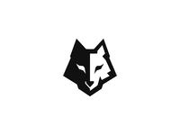 Wolf Logo Identity 2