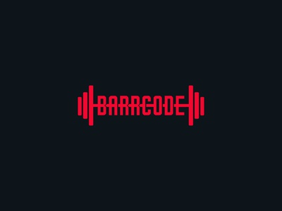 Barrcode - Coaching alphalete productdesign gymshark logodesign fitnesslogo coaching barcode
