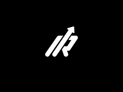 R + Arrow Logo Mark - FSVISUALS fsvisuals logodesign growthlogo google marketingdesign arrow marketinglogo