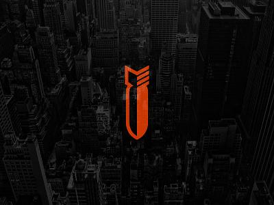 Missile Logo Concept - FSVISUALS gymshark alphalete symboldesign webdesigner designer graphicdesign webdesign logodesign missile