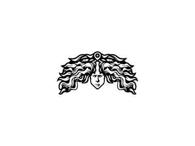 "Logo Concept ""Medusa Head"" medusa logo design abstract sports apparel clothing bodybuilding fitness branding"