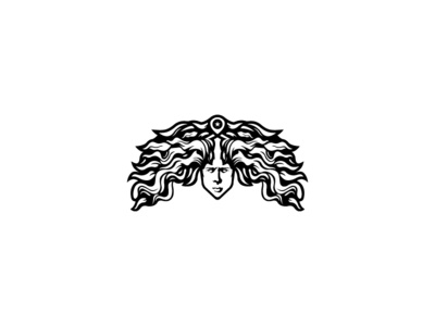 "Logo Concept ""Medusa Head"" medusa logo design abstract sports apparel clothing bodybuilding fitness branding"