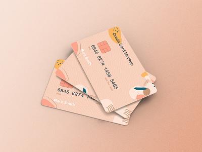 Credit Card Mockup graphic new landing design illustration web envato themeforest typography graphic design animation ui branding logo 3d credit card mockup motion graphics credit card mockup