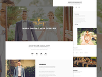 Crown - Wedding Landing page